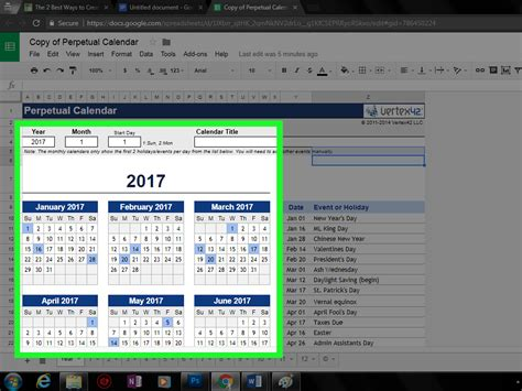 how to make a calendar with docs the 2 best ways to create a calendar in docs wikihow