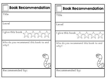 book recommendation cards template best 25 book recommendation form ideas on