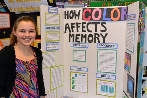 how does color affect memory science fair 2013 bfccps