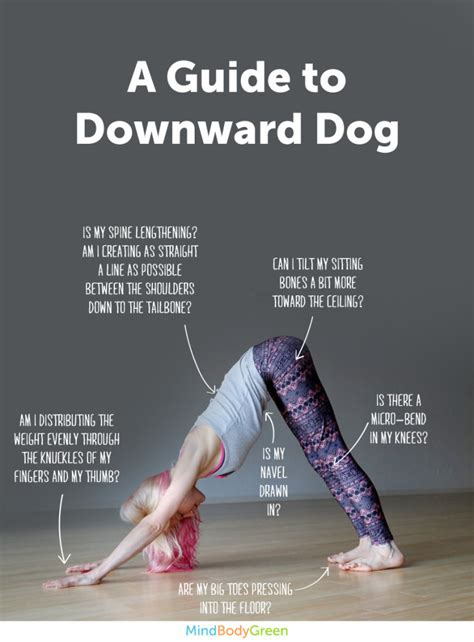 how to do downward how to do downward infographic mindbodygreen
