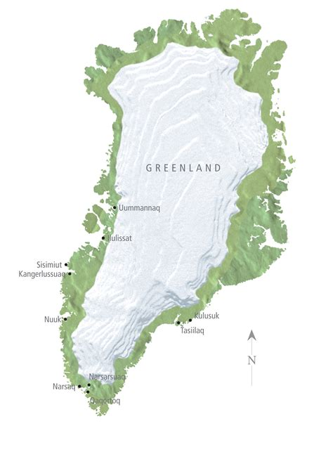 map of greenland and america large detailed relief map of greenland with cities