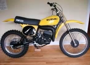 1976 Suzuki Rm125 1976 Suzuki Rm125 Floater Suzuki Rm Vintage Motocross