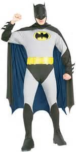 gents classic style batman fancy dress up party
