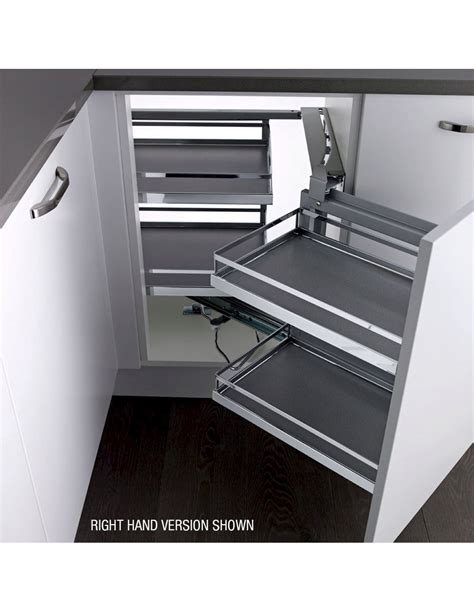 blind corner pull out unit kessebohmer 900 1000mm style magic corner pull out storage