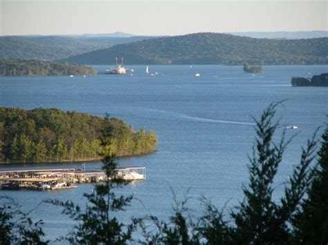 summer night at table rock lake indian point