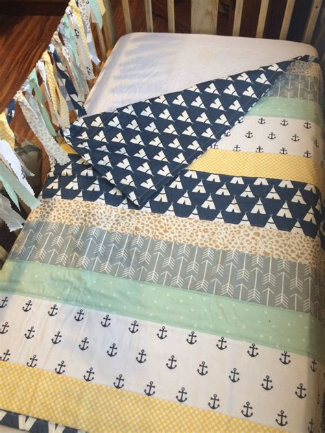 Nautical Crib Quilt by Best 25 Pan Nursery Ideas On Pan