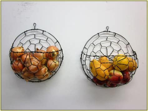 wall mounted fruit basket inserts  interior stylishly