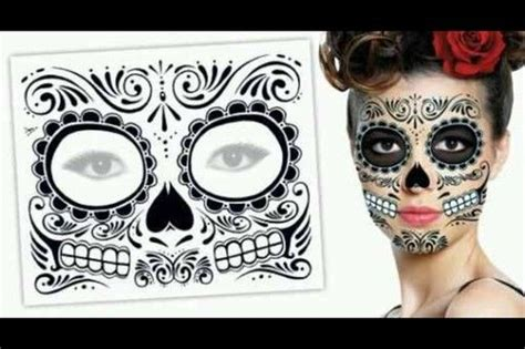 And Skull Temporary Skull The O Jays And Day Of The Dead On