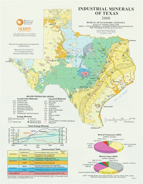 mineral texas map tobin map collection geosciences libguides at