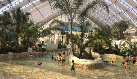le bois opening of center parcs le bois aux daims m2leisure