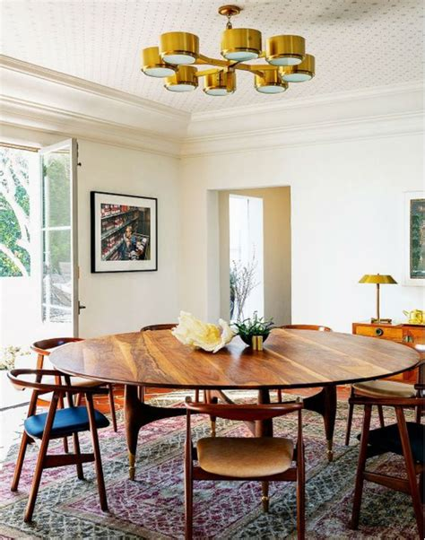 modern round dining room sets 7 inspirational mid century modern dining room sets