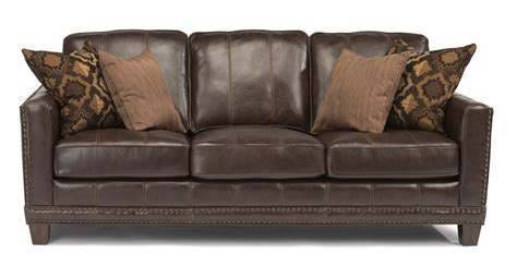flexsteel living room leather sofa 1373 31 the sofa
