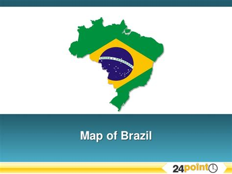 powerpoint 2010 themes brazil ppt map of brazil