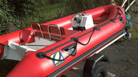 inflatable boats devon zodiac rigid inflatable boat in plymouth devon gumtree