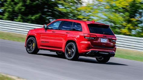 jeep trackhawk back jeep grand cherokee trackhawk 2017 review by car magazine