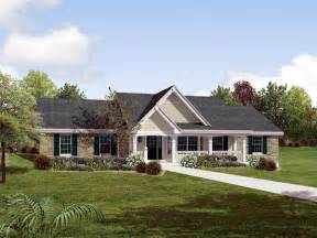 traditional country house plans country ranch southern traditional house plan 87872