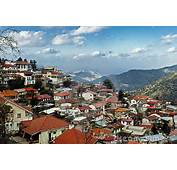 Pedoulas Village Troodos Mountains Cyprus Stock Images