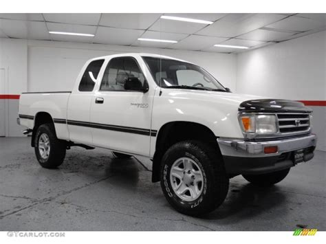 white toyota truck 1998 warm white toyota t100 truck dx extended cab 4x4