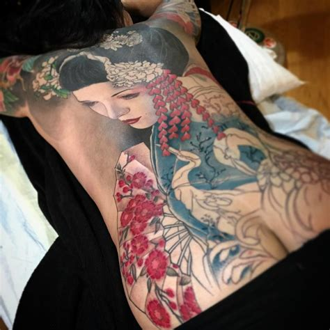 jeff gogue tattoo geisha by jeff gogue tattoos