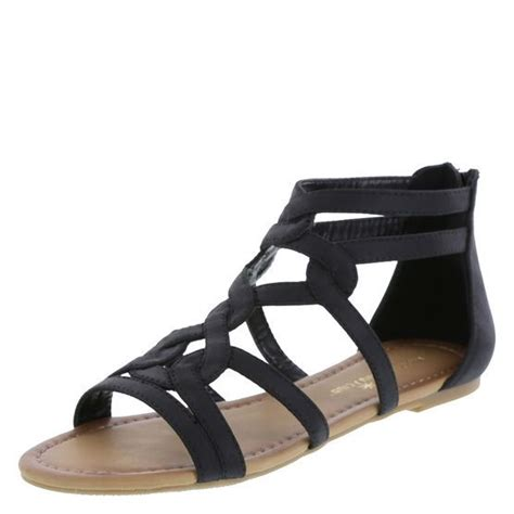 sandals club mobay the gladiator sandal gets an update with this swirly