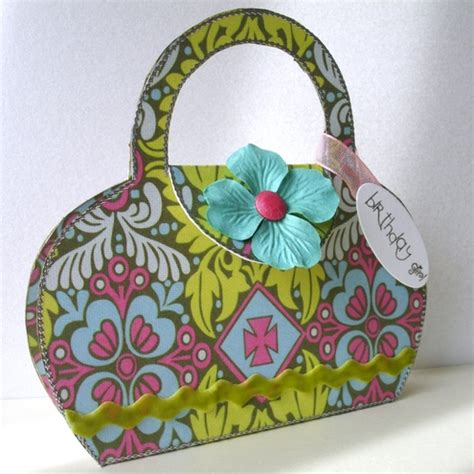 A Birthday And A Discount From Butler Bag folksy buy quot butler handbag shaped birthday greeting