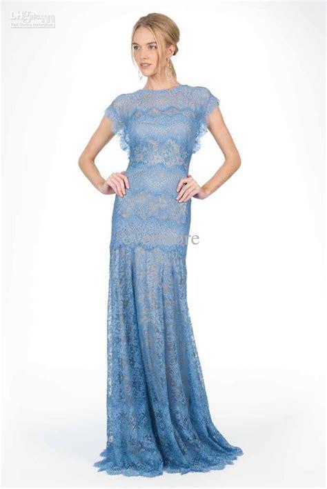 light blue floor length dress light blue lace bridesmaid dresses to inspire you cherry