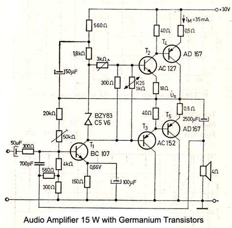 transistor guitar lifier schematic audio schematics