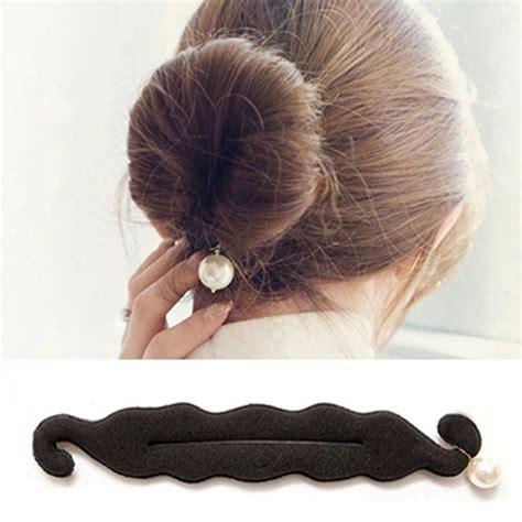 Kuncir Atau Pengikat Rambut 1 kuncir rambut cepol korea black jakartanotebook
