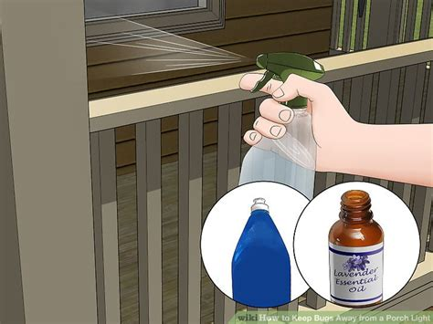 how to keep bugs porch light how to keep bugs away from a porch light 11 steps with