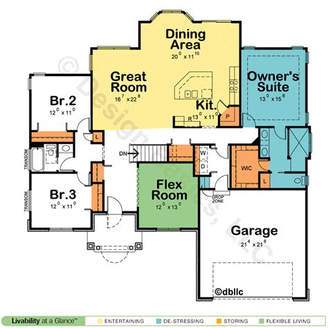 design basics house plans basic one story house plans
