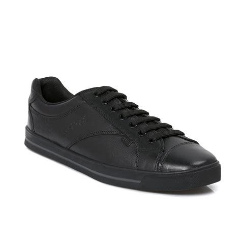 school shoes for kickers wolny black lace leather boys mens school shoes