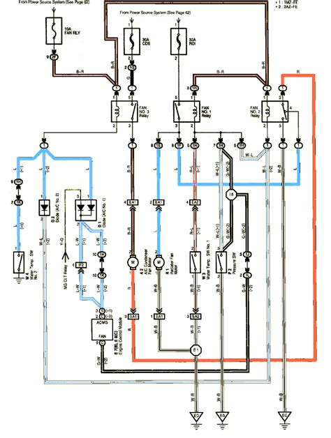 2003 toyota camry radiator fan wiring diagram for a 1999 toyota camry 1999 lincoln