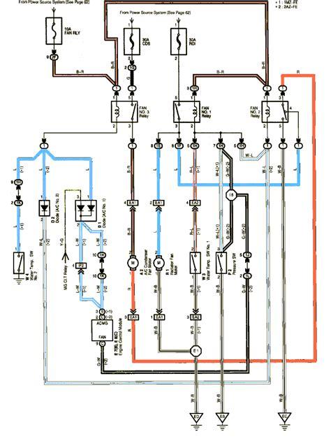 toyota yaris cooling fan wiring diagram toyota free