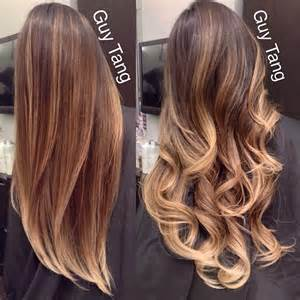 hair color balayage best 25 tang balayage ideas on how to
