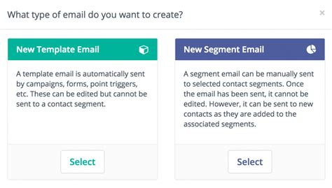Template Vs Segment Emails Mautic Email Broadcast Template