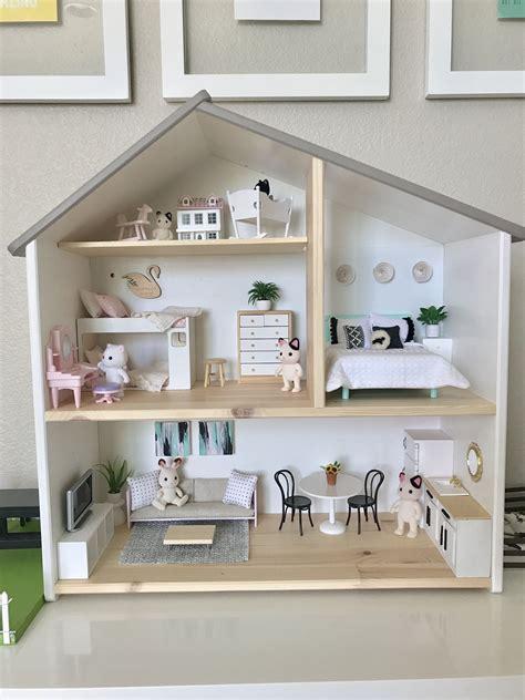 dollhouse ikea s ikea flisat dollhouse is fully furnished