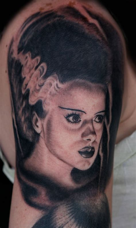 bride of frankenstein tattoo designs 1000 images about of frankenstein tattoos on