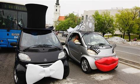 How To Decorate Your Car by Why And When To Decorate The Getaway Car Weddingelation
