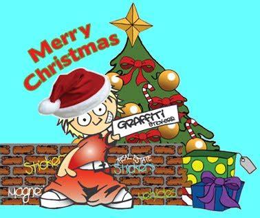 graffiti merry christmas  christian wallpapers