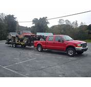 Towing Gooseneck And 2 Rigs/Cars With SRW  NC4x4