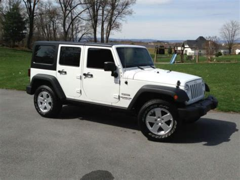 2013 Jeep Wrangler Unlimited Windshield Sell Used 2013 Jeep Wrangler Unlimited 4 Door 4wd Hardtop