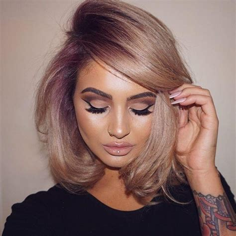 styles for blow drying short bob 2018 latest short curly blow dry