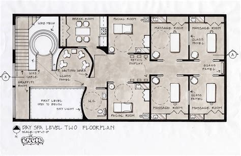 layout get view spa floor plans spa design concept fifth avenue new