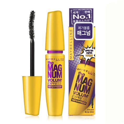 Maskara Maybelline The Magnum Volume maybelline new york the magnum volume express waterproof