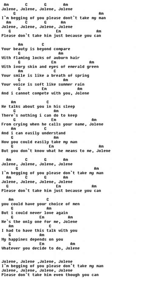 secret we the ukulele chords the 25 best dolly parton jolene ideas on