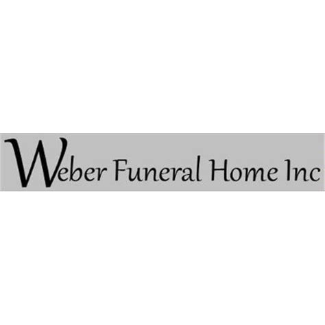 weber funeral home friedhof