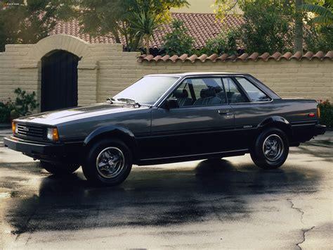 83 toyota corolla toyota corolla sr5 hardtop coupe ae71te72 1980 83