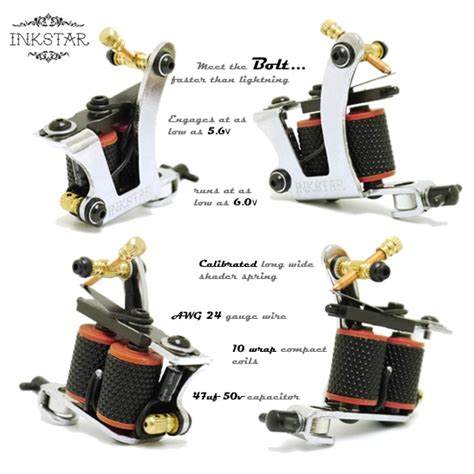 how to set up a tattoo machine kit inkstar apprentice c kit radiant colors set