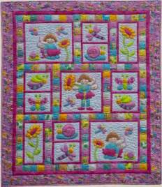 Patchwork Pattern Fabric - pixie by quilts quilt pattern 20 00