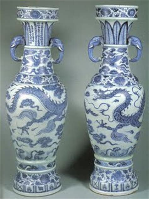 Temple Vase Yuan Dynasty by Ahis335 Yuan Dynasty Quot David Vases Quot
